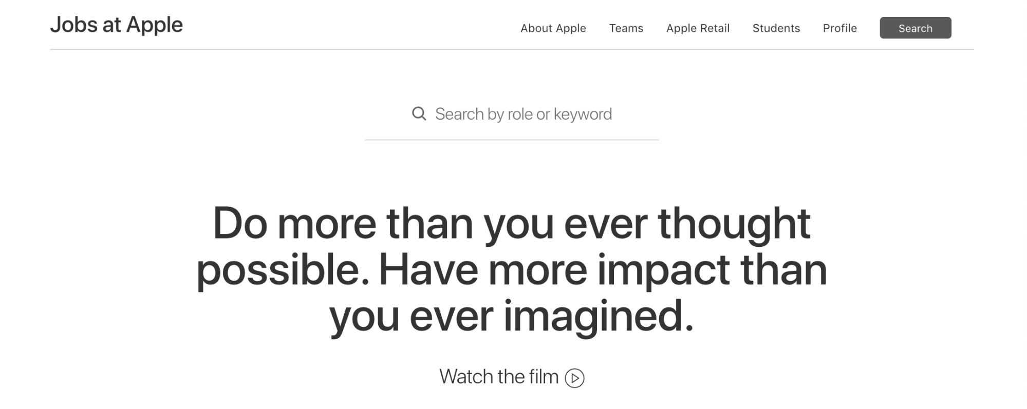 Apple's employer brand enforces their organization's culture.