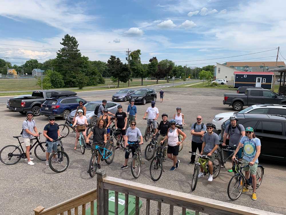 Fredericton Office Bike Ride